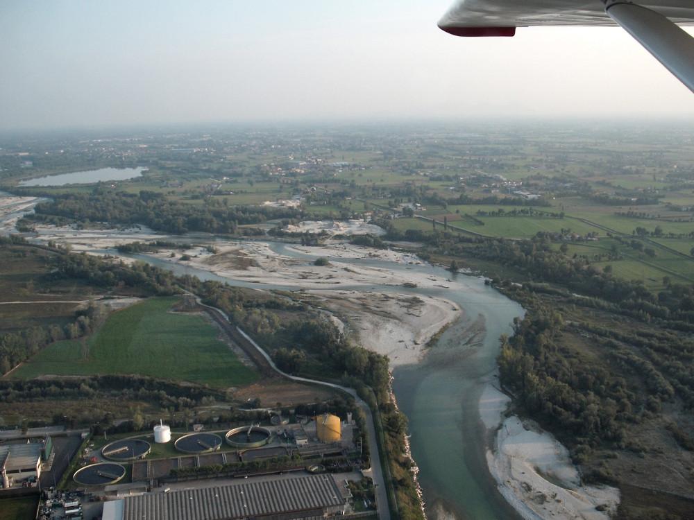 <p>Brenta river near Bassano del Grappa</p>