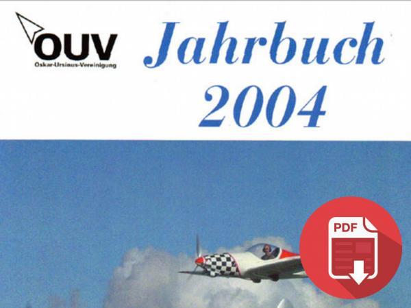 2004 - GERMANIA: OUV - JAHRBUCH 2004 - PIUMA TWIN DI ACHIM GROH