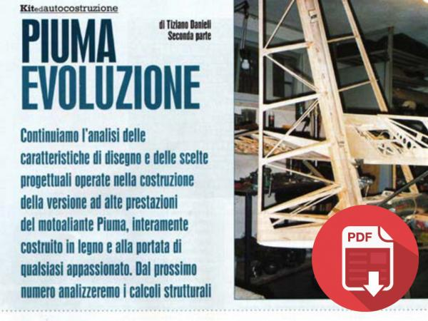 2001/2002 - ITALY: AVIAZIONE SPORTIVA - MONTHLY ISSUES ON PIUMA PROJECT - 04