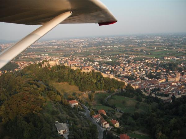 Marostica e il castello (VI)