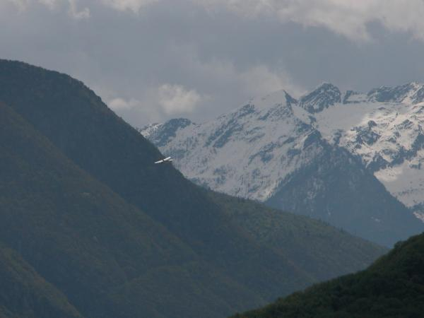 Frank Metzger in Valtellina