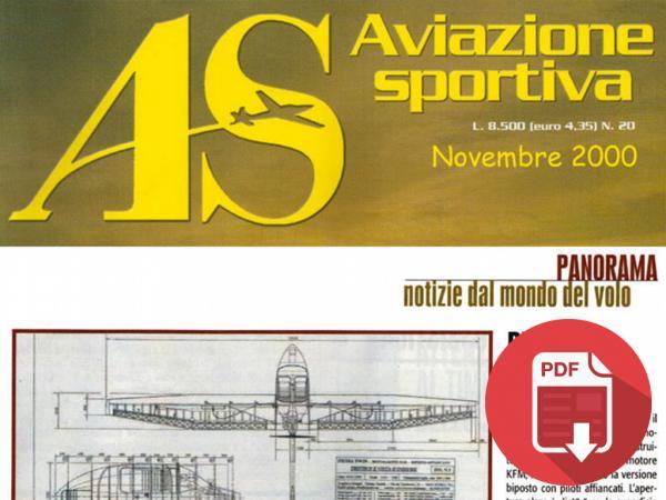 2000 - ITALIA: AVIAZIONE SPORTIVA NOVEMBRE (TWIN)