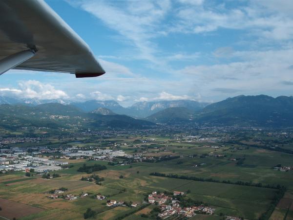 The plain near Schio and Mount Pasubio (VI)