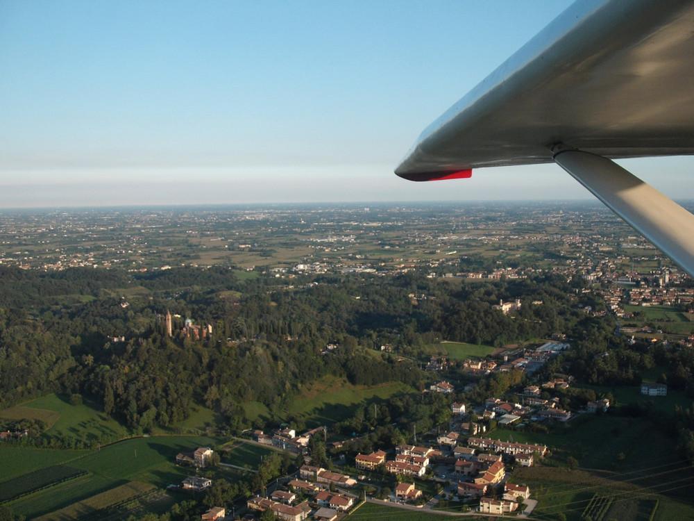 <p>Colline tra Asolo e Bassano del Grappa</p>