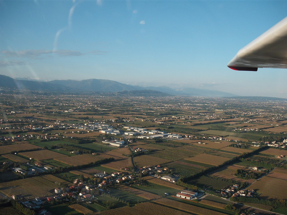 <p>The plain near Montello (TV)</p>
