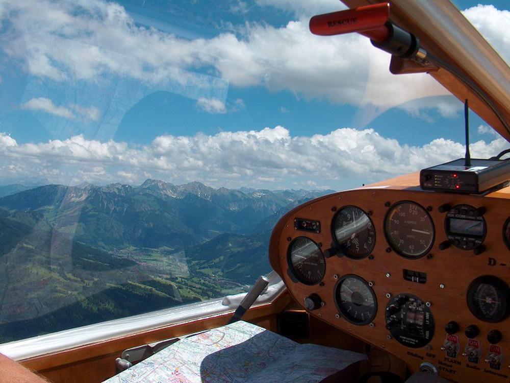 <p>Achim Groh sulle Alpi</p>